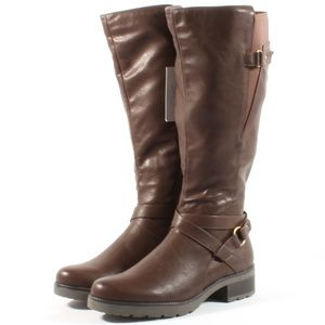 Soul Naturalizer Quebec Wide Calf Riding Boots NEW